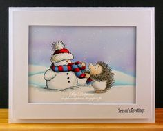 Delphine's place: Season's Greetings for Copic Europe