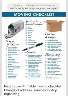 Moving Apartment Checklist : Images About Moving On Pinterest Apartment