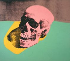 """Skull"" by #MaxsIcon Andy Warhol, 1976"