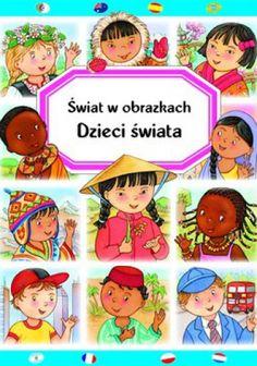 Okładka książki Dzieci świata. Świat w obrazkach
