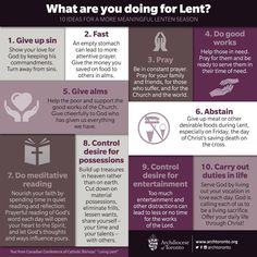 """""""Thank you for these wonderful infographics. What Is Shrove Tuesday? Why the Ashes? What Is Lent? What Are You Doing For Lent? Catholic Lent, Catholic Catechism, Catholic Quotes, Roman Catholic, Catholic Easter, Catholic Traditions, Catholic Religion, Religious Quotes, Lent Prayers"""