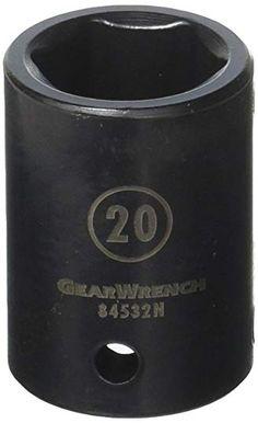 GearWrench 80583 13 Piece 1//4-Inch 3//8-Inch 1//2-Inch Drive E Socket Set