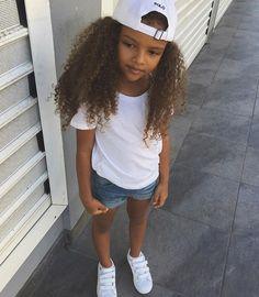 @gσ∂∂єѕѕ�ι�ιт Beautiful Children, Beautiful Babies, Beautiful People, Pretty Little Girls, Pretty Baby, Cute Baby Girl, Cute Babies, Biracial Babies, Baby Fashionista