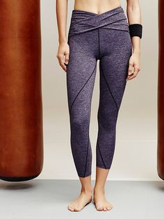 Infinity Legging | So-soft cropped activewear leggings with Picot Performance cutouts in an infinity design. Features Performance…
