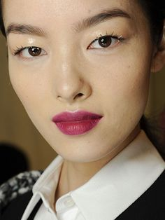 NYFW Fall 2015 - Beauty Trends - Sparkly Accents - Carolina Herrera