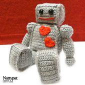 Ravelry: The Lovebot pattern by Natalie Gagnon