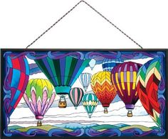 Joan Baker Designs APM207 Hot Air Balloons Glass Art Panel, 19-1/2 by 10-1/2-Inch by Joan Baker Designs, http://www.amazon.com/dp/B003OKSDHK/ref=cm_sw_r_pi_dp_Gf4Qqb03K5RW3 $78.00 & this item ships for FREE with Super Saver Shipping.