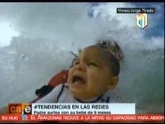 El Vídeo De Un Bebé Surfista Sorprende En La Red #Video