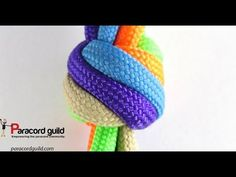 How To Tie A Two Strand Matthew Walker Knot With Paracord - YouTube