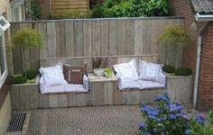 16 tolle Ideen Sitzbänke für draußen zum Selbermachen. - DIY Bastelideen