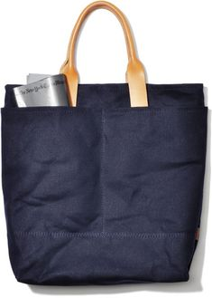 99f8ae3c12 Love this navy tote from The Good Flock.TGF-Tokyo Tejidos