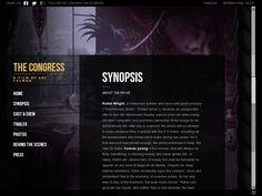 """Website """"The Congress"""" - @Matty Chuah CSS Awards SOTD"""