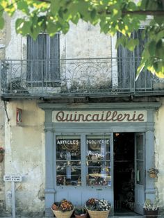 Shop in Sault, Provence, France Photographic Print by Peter Adams at AllPosters.com