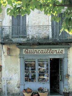 Shop in Sault, Provence, France Reproduction photographique par Peter Adams sur AllPosters.fr