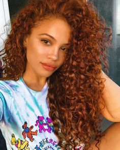 Excellent Absolutely Free Auburn Hair on black women Tips If you have considere., Excellent Absolutely Free Auburn Hair on black women Tips If you have considere., Si tu cabello ze encrespa disadvantage facilidad y. Thin Curly Hair, Colored Curly Hair, Wavy Hair, Curly Hair Styles, Natural Hair Styles, Curly Ginger Hair, Ginger Brown Hair, Colored Natural Hair, Dyed Curly Hair