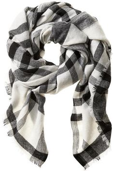 Cece Plaid Scarf