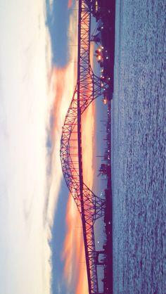 Harbor Bridge Sunset - Corpus Christi