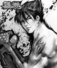 Jin Kazama from Tekken 5. by PiraruChan.deviantart.com on @deviantART