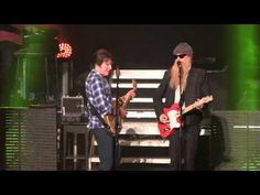 "▶ John Fogerty and Billy Gibbons performing ZZ Top's ""Sharp Dressed Man"" - YouTube"