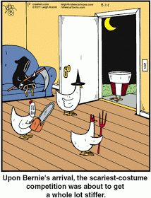 Focused Distortion: More Sunday Halloween Funnies