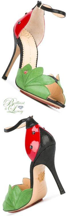 Brilliant Luxury by Emmy DE ♦ Charlotte Olympia 'Adalia' Sandals