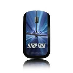 Let your inner sci-fi nerd out and warp speed the web with this Star Trek mouse. I must say, this is the Shat!