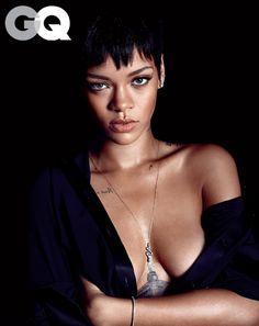 Rihanna by MARIO SORRENTI for Men's GQ December 2012