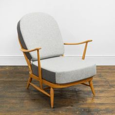 Ercol Windsor Chair – Reloved Upholstery & Design Ercol Furniture, Replacement Cushions, Cushion Inserts, Vintage Chairs, Color Of The Year, Mid Century Design, Pantone Color, Windsor, Industrial Style