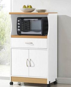 Declutter Your Kitchen With This Stylish And Convenient Microwave Stand.  The Microwave Shelf Is Available In Three Finishes To Match The Design Of  Your ...