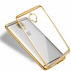 Find More Phone Bags & Cases Information about For OnePlus 3T 2016 / OnePlus 3 Case THREE Electroplating Gold Frame Clear Back Protective Cover Luxury Mobile Phone Accessories,High Quality phone accessories,China accessories patchwork Suppliers, Cheap phone hanging accessories from Geek on Aliexpress.com