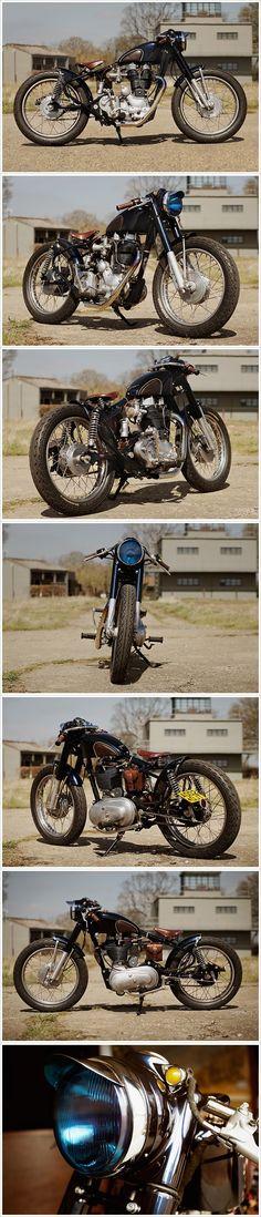 Royal Enfield Bullet – Old Empire Motorcycles Enfield Bike, Enfield Motorcycle, Antique Motorcycles, Cool Motorcycles, Royal Enfield Modified, Cx 500, Royal Enfield Bullet, Motorcycle Trailer, Classy Cars