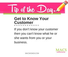 """Before making an effort to know your customer, it is helpful to know who your target market is. To whom are you trying to sell your products or services? Do you have a specific """"vision"""" of your customer in mind? Market segmentation can give you good insight on your customers before even talking to them. Use the four segmentation bases to identify your target market: demographic, geographic, psychographic, and behavioral."""