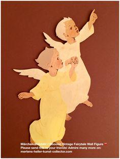 ☀️ New in November ☀️ Hellerkunst: Nach oben zeigendes Engelpaar / Angel Pair Pointing Up – MHKC – Christiane Dietz