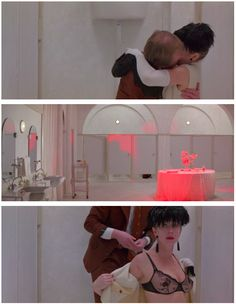 """Helen Mirren and Alan Howard in """"The Cook, the Thief, His Wife & Her Lover"""" (Peter Greenaway)1989"""