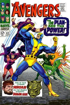 Cover for The Avengers (Marvel, 1963 series) #42
