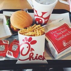 Yay! They just brought Chick fil a to Michigan!!
