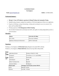 Resume Format For Mechanical Engineers Pdf HttpMegagiperCom