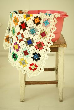 new granny square pattern