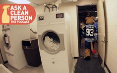 On this episode of the official Ask a Clean Person podcast, hockey writer Dave Lozo joined me on the occasion of the new NHL season to talk about hockey gear, its attendant smells, and what to do about that stanky problem. It was thematic, you see!
