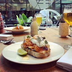 Lets lunch! Eggs Benedict en vissoep; mét een lekker biertje... ;-) #myview #eten #unch #vissoep #eggsbenedict #bier #Cornet #trappist #Emma #@emma_eindhoven #nieuweemmasingel #binnenstad #Eindhoven . . . #food #foodporn #foodgasm #foodstagram #foodphotography #eggs #beer Eindhoven, Camembert Cheese, Food Porn, Dairy, Treats