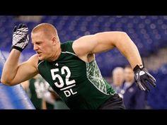 J.J. Watt 2011 NFL Scouting Combine highlights