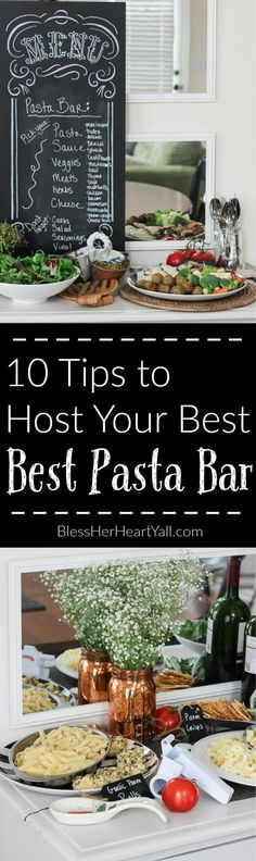 My pasta bar parties are a breeze to put together once you get the hang of a few things and tend to impress the palates of my turkey-overloa