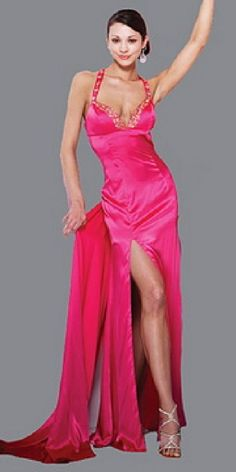 sexy pink prom dresses | Find A Wedding | Pinterest | Sexy, Prom ...
