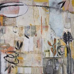 Leslie Allen -- Sonnet , 2011 Formatting Painting   48 x 48 in Oil on canvas