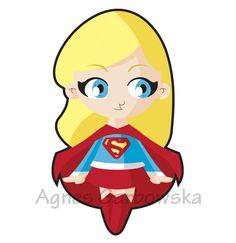 Baby SuperGirl by AgnesGarbowska.deviantart.com on @deviantART