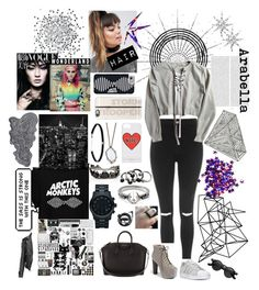 """Arabella- Artic Monkeys"" by marta-cassiano-santos ❤ liked on Polyvore featuring Oris, Topshop, ASOS, Casetify, Michael Kors, Carbon & Hyde, Alexis Bittar, Sonix, Abyss & Habidecor and adidas"