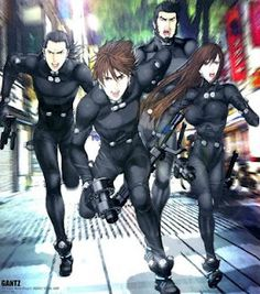 Gantz, magnificent japanese comic (manga) where all your current crew can die in a single chapter.