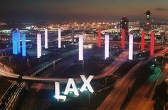 Los Angeles Airport... ugh, I don't know that I loved LAX. It was definitely a sight to behold.