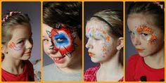 schminkvoorbeelden koninginnedag - Google zoeken