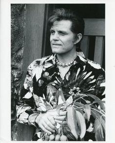 JACK LORD SMILING HAWAIIAN SHIRT PORTRAIT HAWAII FIVE-O ORIG 1974 CBS TV PHOTO #Photos